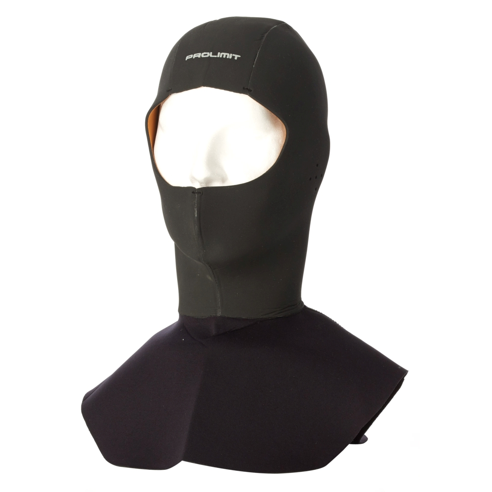 Diving cap with Collar